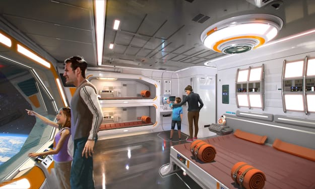 Walt Disney Executive Shares New Pictures Of The Upcoming Star Wars: Galactic Starcruiser Two Night Resort Experience