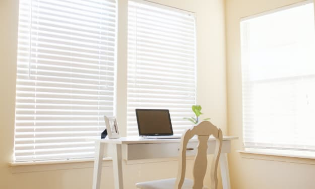 Blinds Direct Online Guide to Choosing Blinds for Your Home Office.