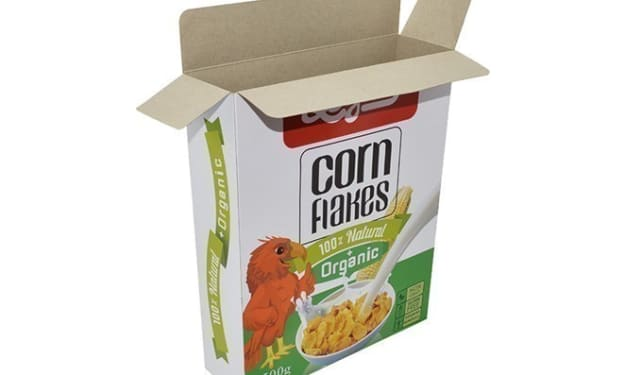 Custom Cereal Boxes with Logo   GoTo Boxes