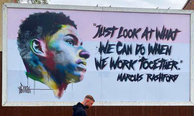 Good Deeds: Marcus Rashford - the conscience of a country