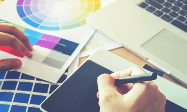 Find different stages of passion for Graphic Designing?