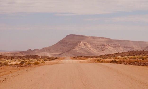 Can you drive a Ford Fiesta through a desert?