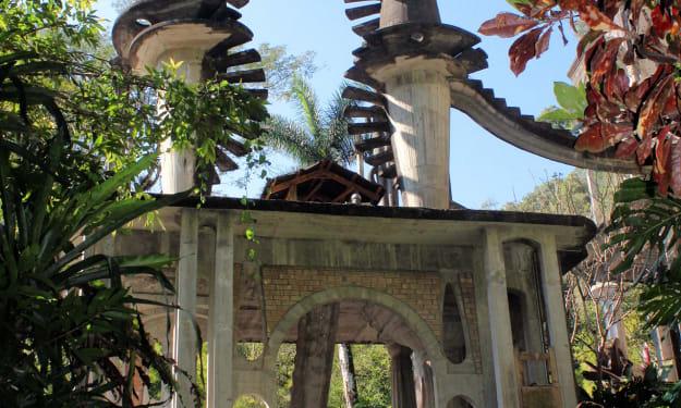 The Surrealist Gardens of Las Pozas