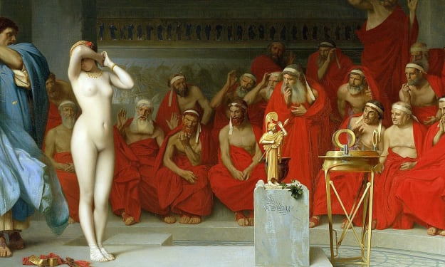 The Beautiful Greek Woman Who Flashed Her Way to Freedom