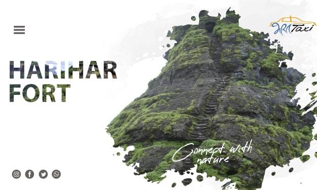 Dream of Climbing 'Harihar Fort'