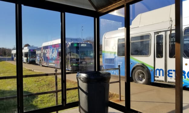Missing marijuana turns up at bus depot lost and found