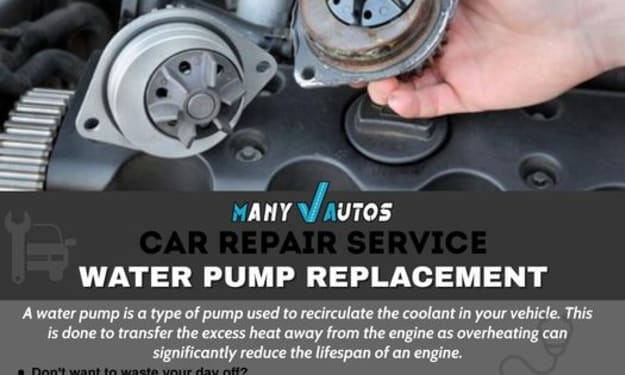 Symptoms That Indicate your Water Pump Needs Replacing