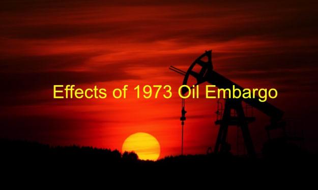 Effects of 1973 Oil Embargo