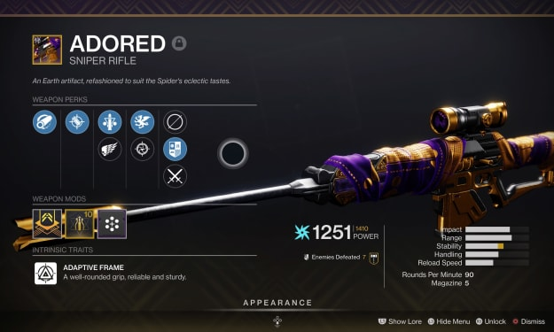 The Adored.. Hawkmoon
