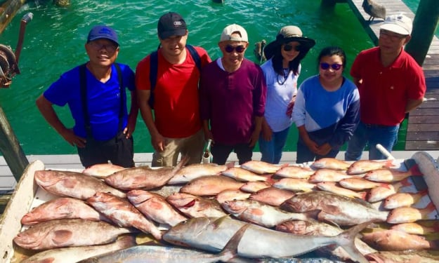 Experience the best Vacation on St Pete fishing charter