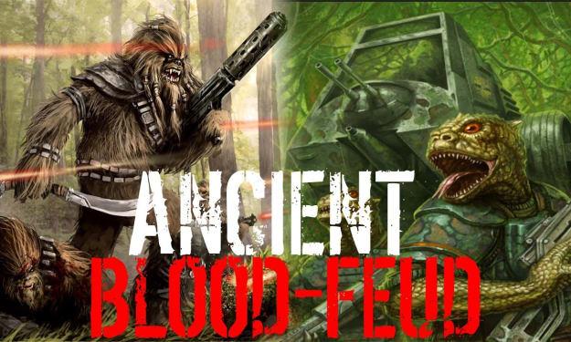 Blood Feud: Wookiees vs Trandoshans