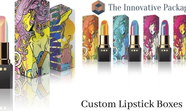Highlight Your Brand with Labeled Lipstick Packaging Boxes