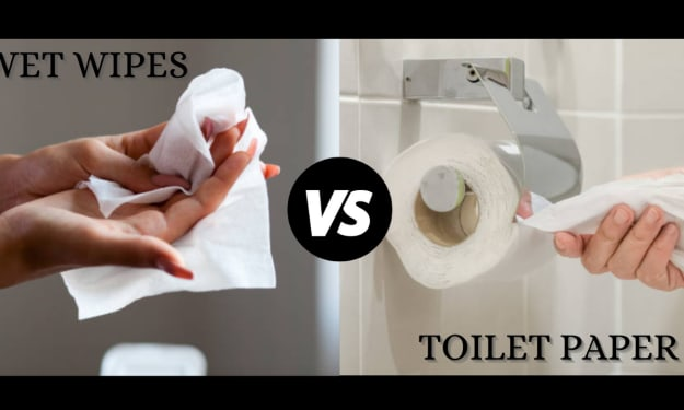 Wet Wipes vs. Toilet Paper