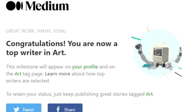 How I Unexpectedly Became a Top Writer on Medium!