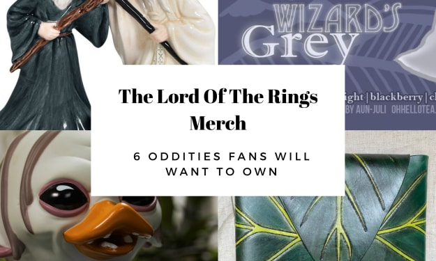 The Lord Of The Rings Merch: 6 Oddities Fans Will Want To Own