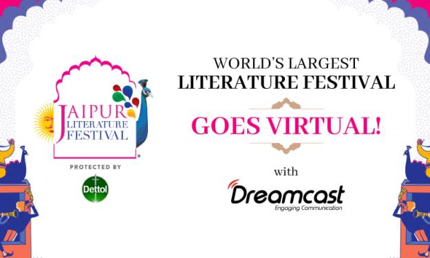 Jaipur Literature Festival Stirring The World With A Mindblowing Virtual Avatar!