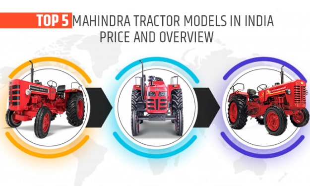 Top 5 Mahindra Tractor Models in India - Price and Overview