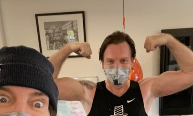 Ewan McGregor Showing Off Muscle Gains for 'Obi-Wan Kenobi' Series