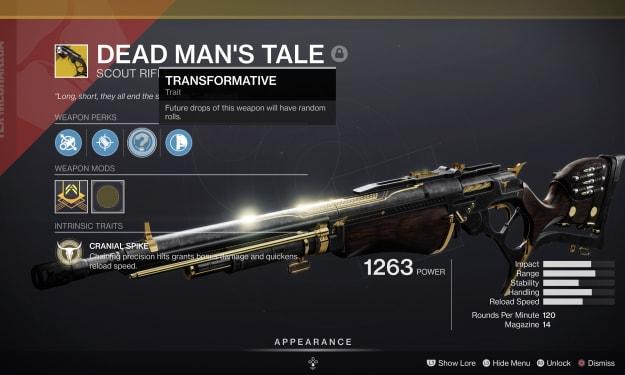 Dead Man's Tale