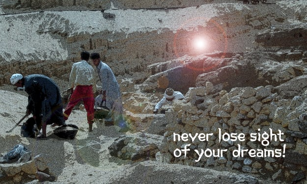 Never lose sight of your dreams!