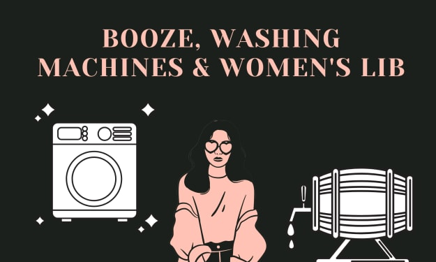 What Do Booze & Washing Machines Have In Common?