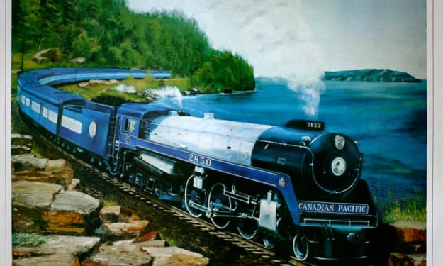 How the CPR Hudson locomotives became known as Royal Hudsons