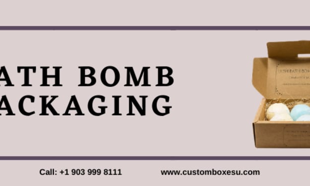 Printed Personalized Branded Bath Bomb packaging in USA