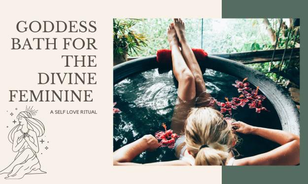 Goddess Bath For The Divine Feminine