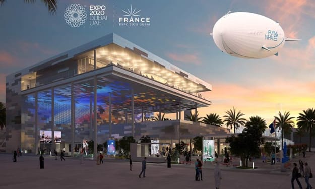 FLYING WHALES at the Dubai World Expo