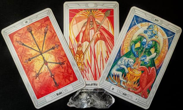 Free Reading #11, for 2021  Mirror Dragon Tarot