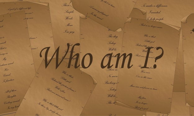 Who am I (poem)