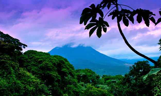 A Jungle Stroll. . Beach Time. . Coffee Plantation Tours. . Hiking Up a Volcano. .So Many Things to Do. .