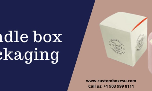 Candle Box packaging in London, UK