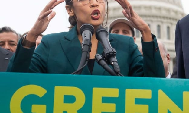 Congresswoman AOC's Green New Deal is Imperative to the Survival of America and the Entire Planet!!!