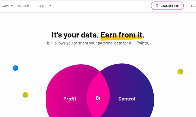 Killi Review: Earn Passive Income From Your Data