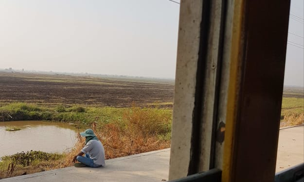 Riding the Rails from Thailand to Cambodia