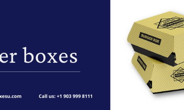 Burger boxes with best printing designs in UK