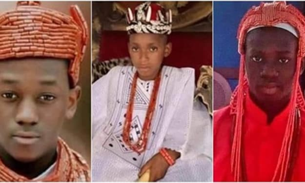 Meet the Youngest Kings in Nigeria (Photos)