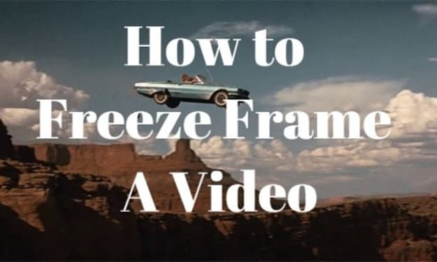 How to Freeze Video (Freeze Frame) on Computer(2021)