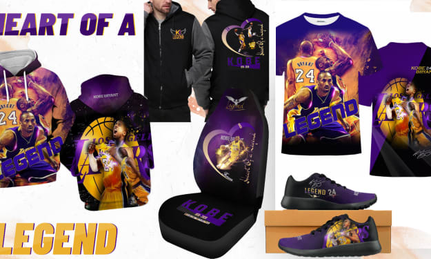 Unique Custom-Designed Kobe Bryant Gear You Can't Find Anywhere Else