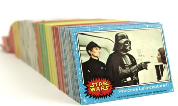 You Won't Believe How Much This Luke Skywalker Trading Card Is Being Sold For