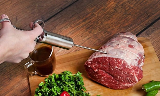 How To Inject BBQ Meat