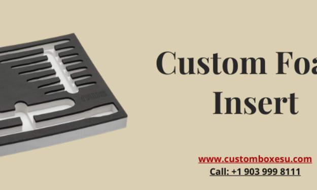 Buy custom foam insert with free Shipping in London, UK