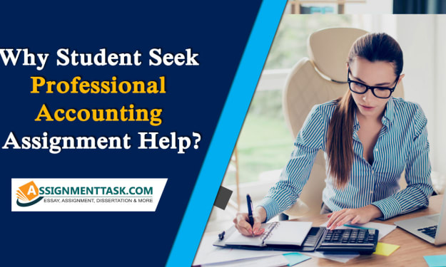 Why Student Seek Professional Accounting Assignment Help?