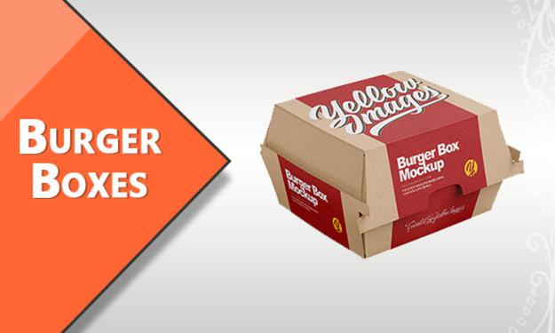 Custom Burger Boxes | For Sale Custom Printed Burger Packaging