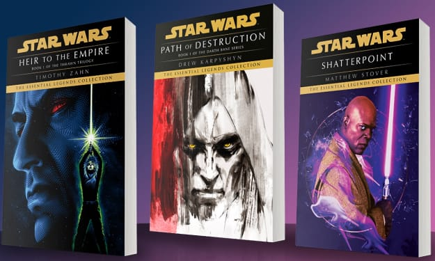 These Classic 'Star Wars' Books Are Being Revived With New Covers