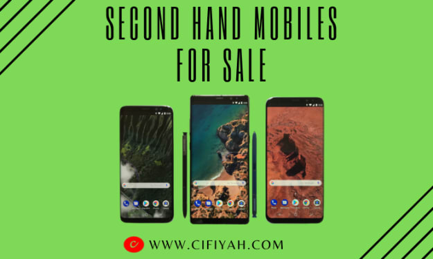 What should I check before buying a second hand mobile?