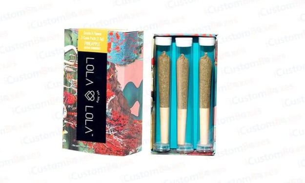 Get Beautifully Customized Pre Roll Packaging