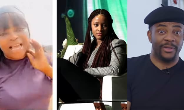Funke Akindele, Ebuka, and More React to Adesua's Miscarriage.