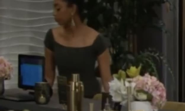 'The Young and the Restless' fans want to know the identity of the lady in the green dress